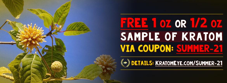 Summer-21: Free 1 oz or 1/2 oz Promotion