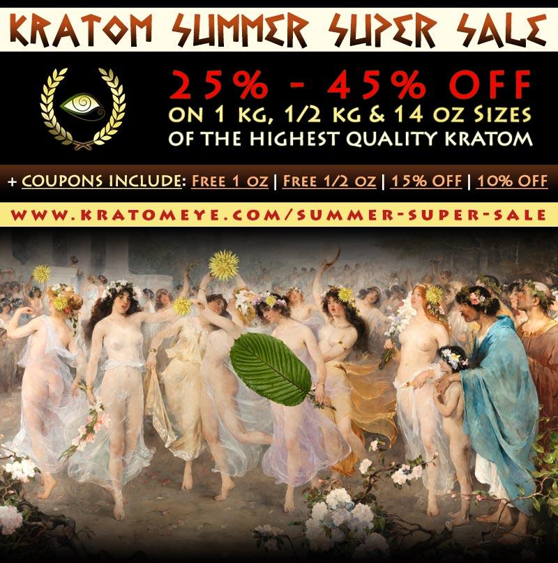 Kratom Super Summer Sale