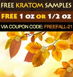FREE 1 OZ & 1/2 OZ KRATOM SAMPLES COUPON