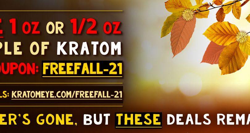 FreeFall-21: Free Kratom 1 oz or 1/2 oz Promotion